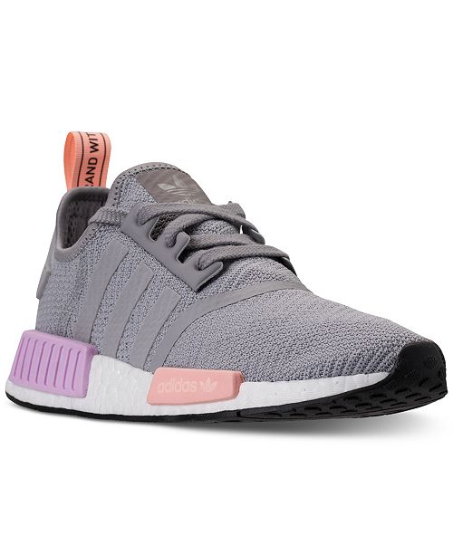 57fa289d0 adidas Women s NMD R1 Casual Sneakers from Finish Line   Reviews ...