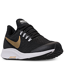 Nike Girls' Air Zoom Pegasus 35 Reflective Running Sneakers from Finish Line