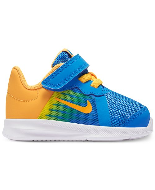 c05890214945f ... Nike Toddler Boys  Downshifter 8 Fade Running Sneakers from Finish ...