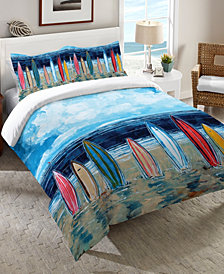 Laural Home Surfboards Twin Comforter