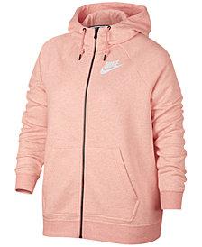 Nike Plus Size Sportswear Zip Hoodie