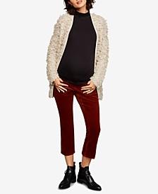 Maternity Corduroy Boot-Cut Pants
