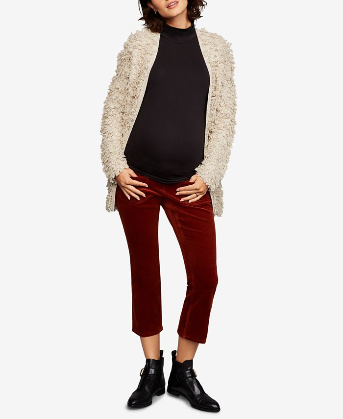 A Pea in the Pod - Maternity Corduroy Boot-Cut Pants