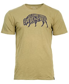United by Blue Men's Wild & Free Graphic-Print Tee, from Eastern Mountain Sports