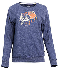 United by Blue Women's Rise & Grind Graphic-Print Pullover, from Eastern Mountain Sports