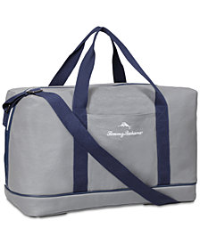Receive a FREE Duffel with any large spray purchase from the Tommy Bahama Maritime Blue fragrance collection
