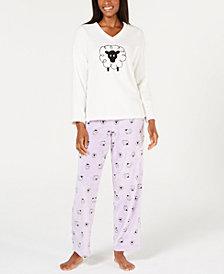 Charter Club Plush Pajama Set, Created for Macy's