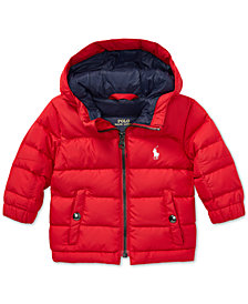 Polo Ralph Lauren Baby Boys Quilted Ripstop Down Jacket