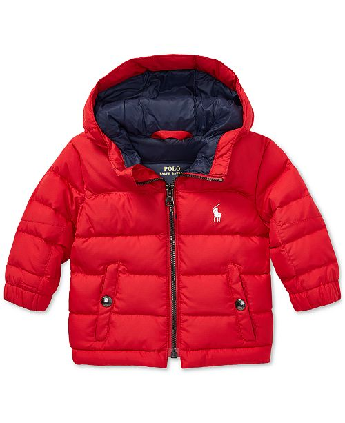 9ac3f4f9f8ee Polo Ralph Lauren Baby Boys Quilted Ripstop Down Jacket   Reviews ...