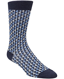 Cole Haan Men's Jacquard Crew Socks