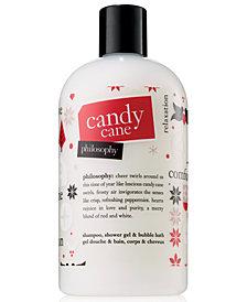 philosophy Candy Cane Shampoo, Shower Gel & Bubble Bath, 16-oz.