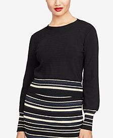 RACHEL Rachel Roy Tie-Back Sweater, Created for Macy's