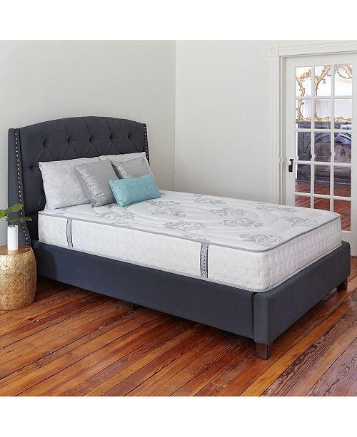 "Sleep Trends Rubi California King 10.5"" Wrapped Coil Hybrid Firm Pillow Top Mattress"
