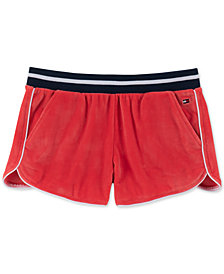 Tommy Hilfiger Big Girls Velour Shorts