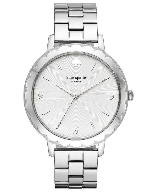kate spade new york Women's Morningside Stainless Steel Bracelet Watch 38mm