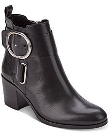 DKNY Telo Buckle Booties, Created for Macy's