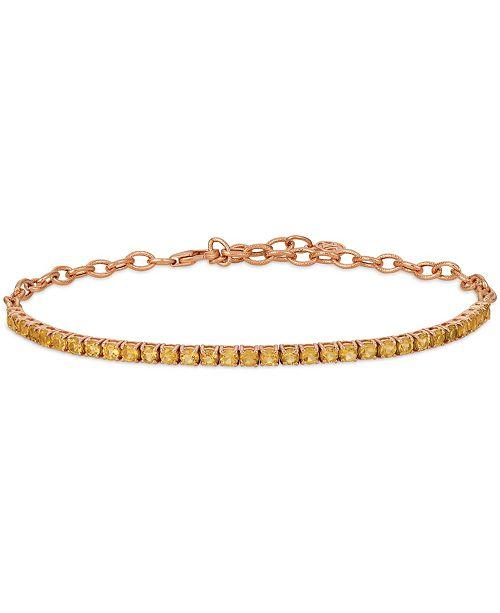 Le Vian Cinnamon Citrine® (2 ct.t.w.) Adjustable Bracelet set in 14k rose gold