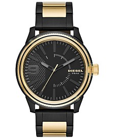 Diesel Men's Rasp NSBB Two-Tone Stainless Steel Bracelet Watch 46mm