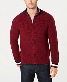 Tommy Hilfiger Men's Michael Full-Zip Sweater