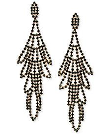 GUESS Multi-Stone Swing Chandelier Earrings