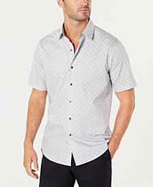 Tasso Elba Men's Medallion Shirt, Created for Macy's