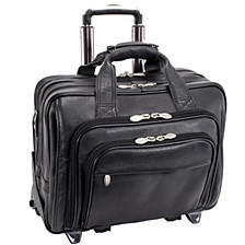 "Gold Coast, 17"" Patented Detachable -Wheeled Laptop Briefcase"