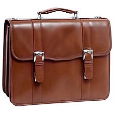"""Flournoy, 15"""" Double Compartment Laptop Briefcase"""