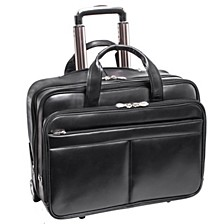 "Bowery 15"" Wheeled Laptop Briefcase"