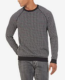 Kenneth Cole New York Men's Alternative City Grid Sweater