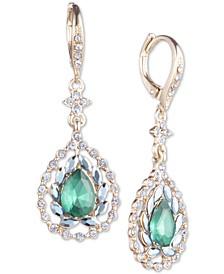 Crystal & Stone Drop Earrings