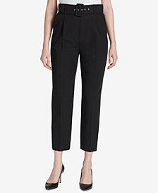 Tommy Hilfiger High-Waist Belted Pant