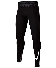 Nike Big Boys Pro Compression-Fit Leggings