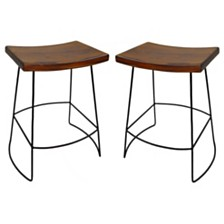 Rex Counter Stool (Set Of 2), Quick Ship