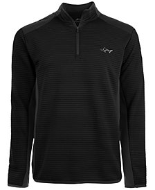 Attack Life by Greg Norman Men's Ottoman Quarter-Zip Shirt, Created for Macy's