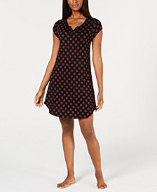 Alfani Essentials Printed Knit Chemise, Created for Macy's