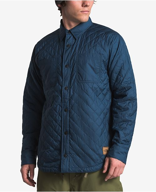 8bcc76d0d The North Face Men's Fort Point Insulated Quilted Shirt & Reviews ...