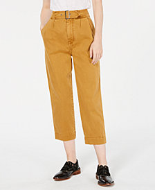 Free People Seamed Like The Real Belted Pants