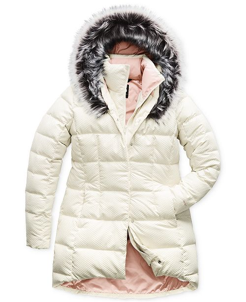 20d97ee182 The North Face Faux-Fur-Collar Down Parka & Reviews - Jackets ...