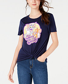 Modern Lux Juniors' Tom & Jerry Graphic T-Shirt