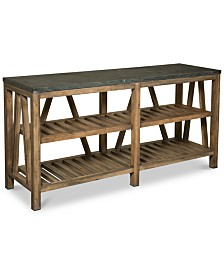 Breslin Bluestone Sofa Table