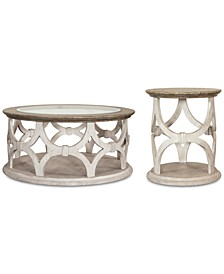 Hadley Table 2-Pc. Set (Coffee Table & Side Table)
