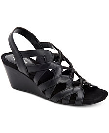 Style & Co Muletta Wedge Sandals, Created for Macy's