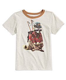 Epic Threads Little Boys Raccoon T-Shirt, Created for Macy's