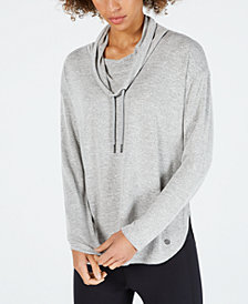 Calvin Klein Performance Cowl-Neck Top