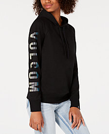 Volcom Juniors' Driftin' Stone Graphic-Sleeve Sweatshirt