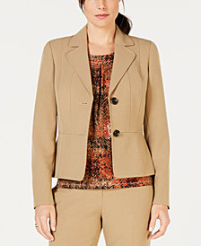 Kasper Two-Button Notch-Collar Jacket