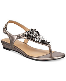 Thalia Sodi Imanie Flat Sandals, Created for Macy's