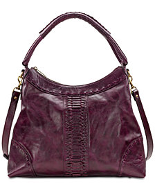 Patricia Nash Carini Burnished Leather Hobo
