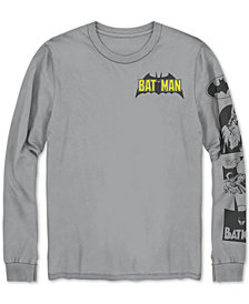 Batman Men's Long-Sleeve Graphic T-Shirt