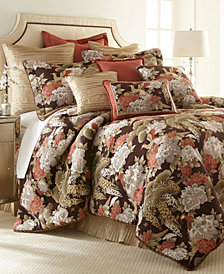 Austin Horn Classics Paradise Peacock 3-piece Luxury Comforter Set
